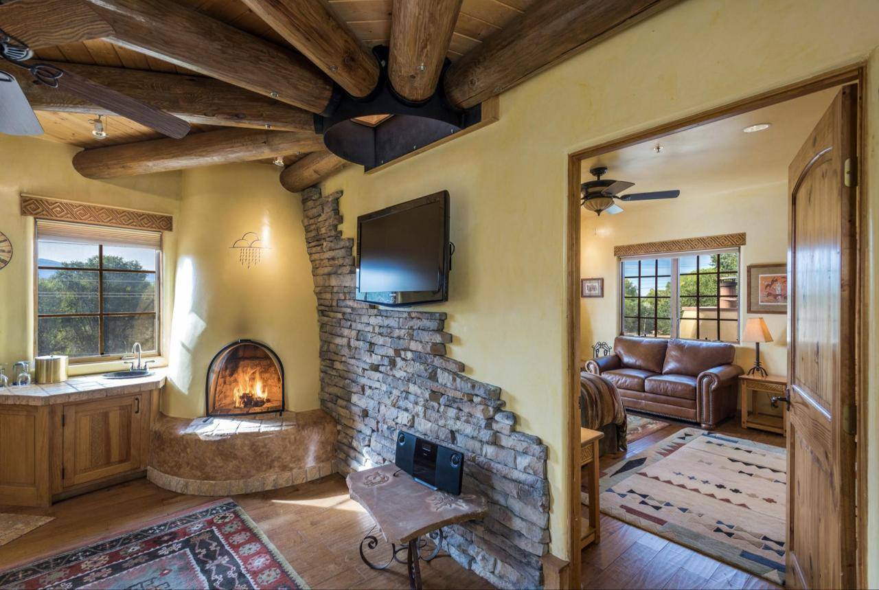 Anasazi Penthouse is a two-room suite
