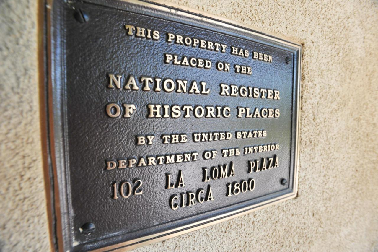 Our historic inn, c 1800, is on the National Register of Historic Places (plaque)