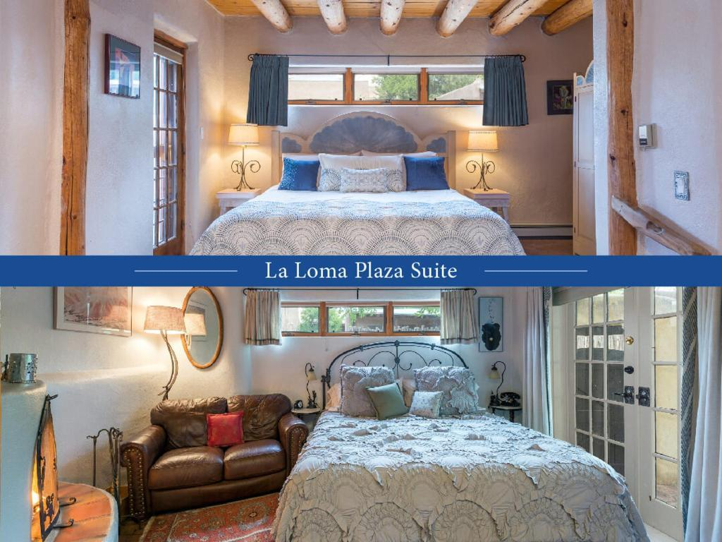 La Loma Studio and Georgias Garden make up this two room connecting suite